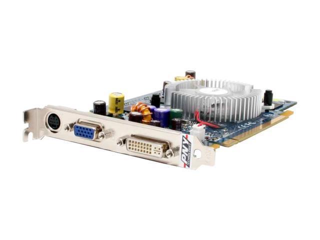 PNY VCG76512SXPB GeForce 7600GS 512MB 128-bit GDDR2 PCI Express x16 SLI Support Video Card