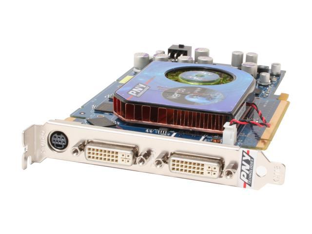 PNY VCG7900SXPB GeForce 7900GS 256MB 256-bit GDDR3 PCI Express x16 SLI Support Video Card