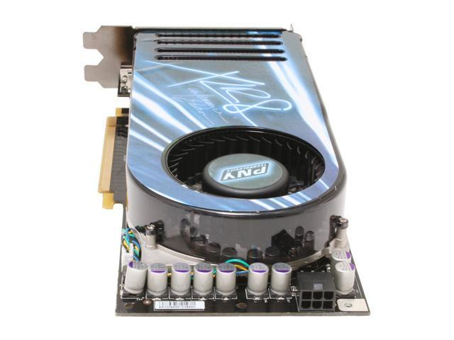 PNY VCG88GTSXPB GeForce 8800GTS 640MB 320-bit GDDR3 PCI Express x16 HDCP Ready SLI Supported Video Card