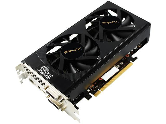 PNY GTX 600 GeForce GTX 650 Ti BOOST DirectX 11 VCGGTX650TBQXPB-OC 2GB 192-Bit GDDR5 PCI Express 3.0 x16 SLI Support Plug-in Card Video Card