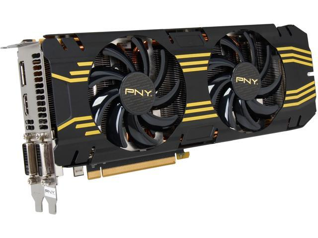 PNY VCGGTX7704XPB-OC G-SYNC Support GeForce GTX 770 4GB 256-Bit GDDR5 PCI Express 3.0 x16 SLI Support Video Card