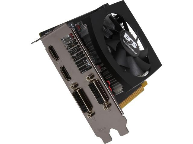 ECS GeForce GTX 650 Ti GTX650TI-2GR5-GFM Video Card