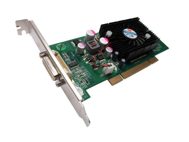 JATON VIDEO-348PCI-LP GeForce 6200 512MB 64-Bit DDR2 PCI Low Profile Ready Video Card