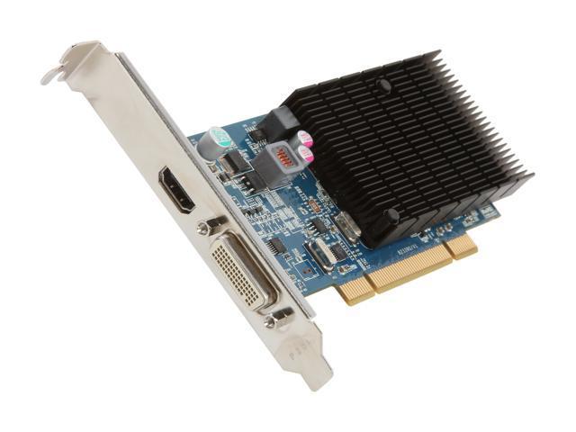 JATON Radeon HD 5450 DirectX 11 Video-339PCI-HLP 1GB 64-Bit DDR3 PCI Low Profile Ready Video Card