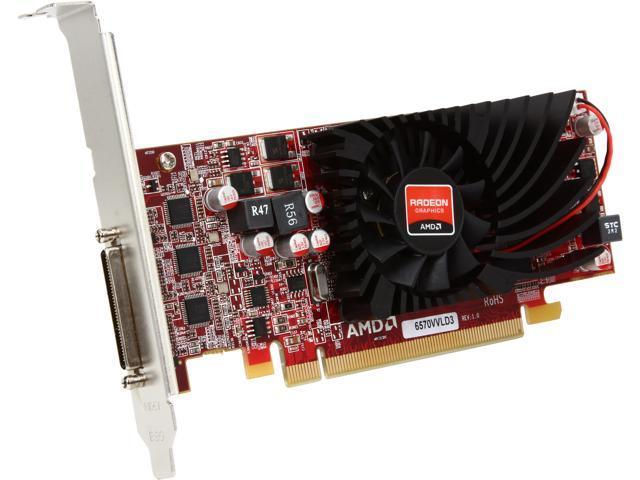 JATON Video-PX369-QLP Radeon HD 6570 1GB 128-Bit DDR3 PCI Express x16 Low Profile Ready Video Card