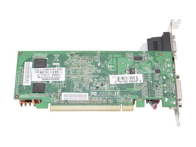 BIOSTAR V7302EL26 GeForce 7300LE 256MB 64-bit GDDR2 PCI Express x16 Video Card