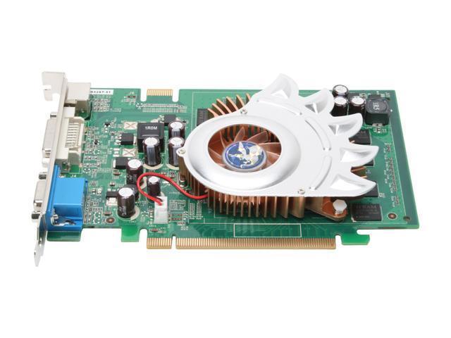 BIOSTAR V8602GT51 GeForce 8600 GT 512MB 128-bit GDDR2 PCI Express x16 SLI Support Video Card