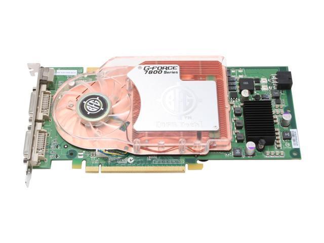 BFG Tech BFGR78256GTXOC GeForce 7800GTX 256MB 256-bit GDDR3 PCI Express x16 SLI Support Video Card