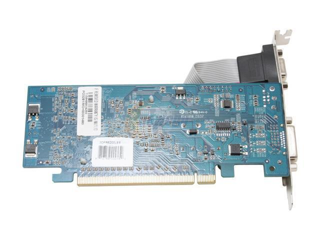 3D Fuzion 3DFR6200LEE GeForce 6200LE TC 256MB(128MB on Board) 64-bit DDR PCI Express x16 Video Card