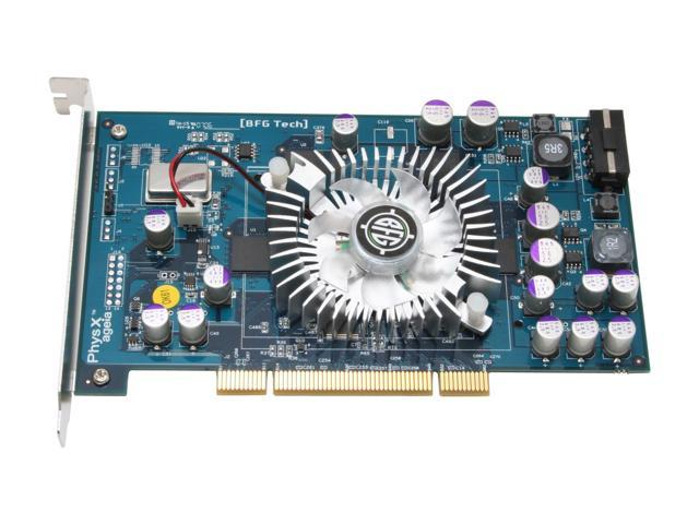 BFG Tech BFGRPHYSX128P PhysX Processing Unit 128MB 128-bit GDDR3 PCI Physics Card