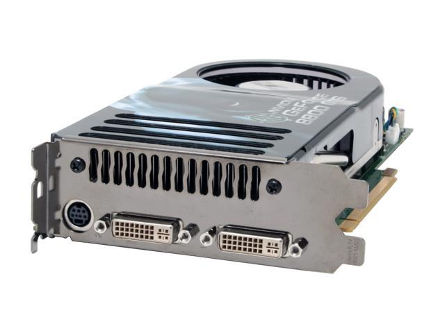 BFG Tech BFGR88640GTSOC2E GeForce 8800 GTS 640MB 320-bit GDDR3 PCI Express x16 HDCP Ready SLI Support Video Card