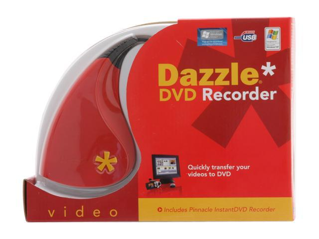 Pinnacle Dazzle DVD Recorder 230100033 USB 2.0 Interface