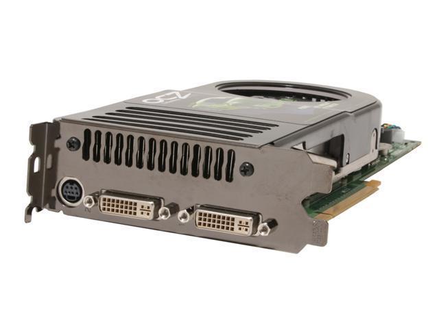 OCZ OCZ8800GTX GeForce 8800 GTX 768MB 384-bit GDDR3 PCI Express x16 HDCP Ready SLI Support HDCP Video Card
