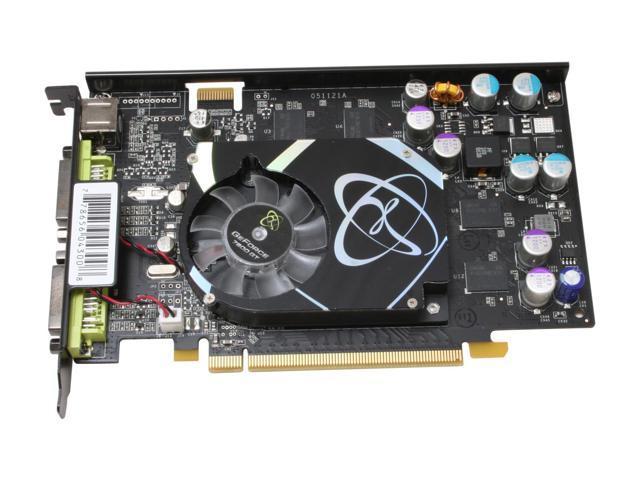 XFX PVT73GUGF3 GeForce 7600GT 256MB 128-bit GDDR3 PCI Express x16 SLI Support Video Card