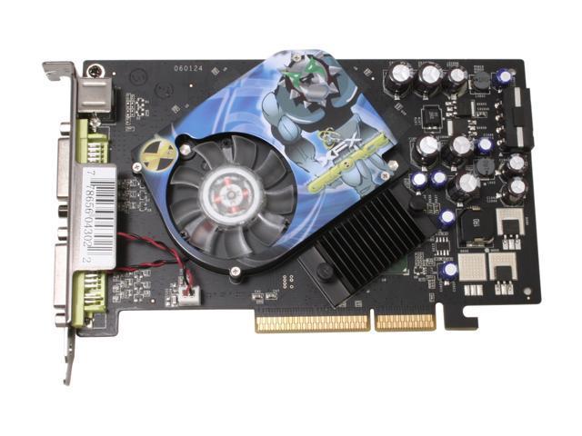XFX PVT73AUDE3 GeForce 7600GT 256MB 128-bit GDDR3 AGP 4X/8X Video Card