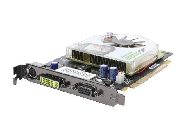 XFX PVT86JUAF3 GeForce 8500 GT 256MB 128-bit GDDR2 PCI Express x16 SLI Support Video Card