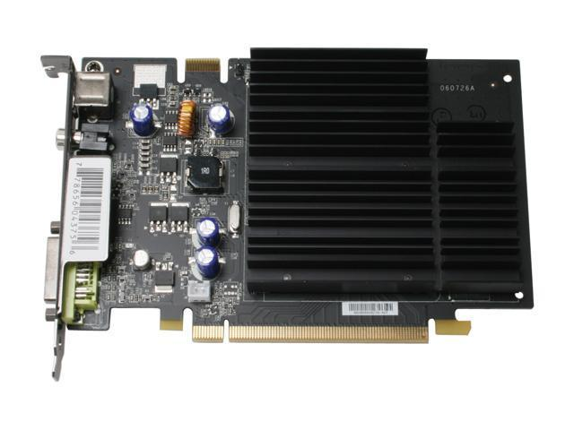 XFX PVT73PUMH4 GeForce 7600GS 256MB 128-bit GDDR2 PCI Express x16 HDCP Ready SLI Support Video Card