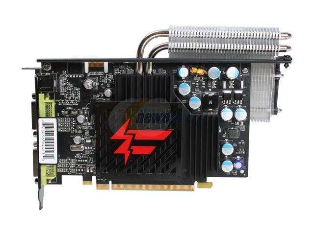 XFX PVT84JU1D4 GeForce 8600GT 256MB 128-bit GDDR3 PCI Express x16 HDCP Ready SLI Supported Video Card