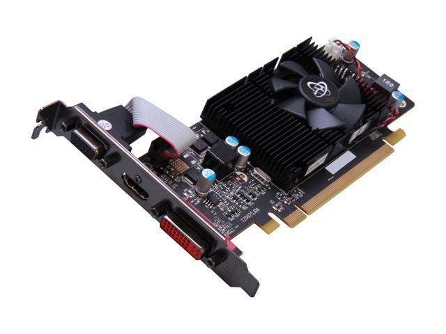 XFX Radeon HD 6570 DirectX 11 HD-657X-CLF2 2GB 128-Bit DDR3 PCI Express 2.1 Low Profile Ready Video Card