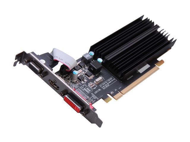 XFX Radeon HD 6450 DirectX 11 HD-645X-CLH2 2GB 64-Bit DDR3 PCI Express 2.1 CrossFireX Support Low Profile Ready Video Card