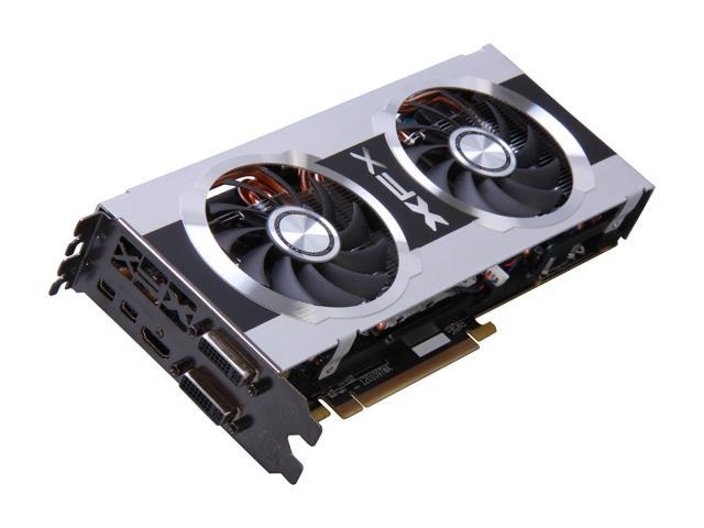 XFX Black DD Radeon HD 7850 DirectX 11 FX-785A-CDBC 2GB 256-Bit DDR5 PCI Express 3.0 HDCP Ready CrossFireX Support Video Card