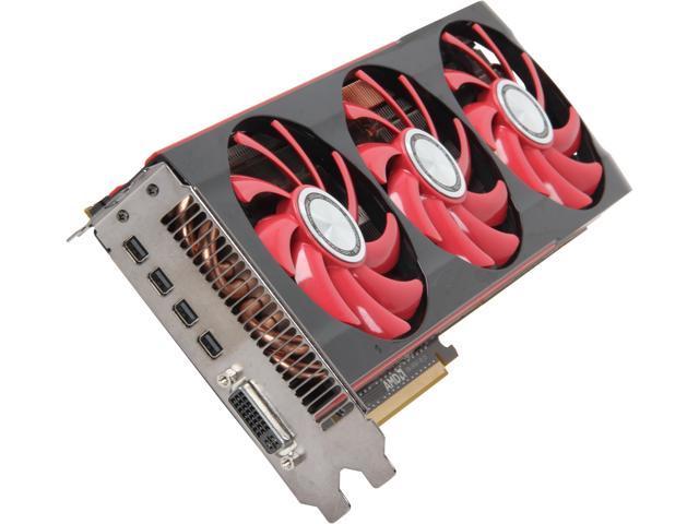 XFX Radeon HD 7990 DirectX 11.1 FX-799A-XNF9 6GB 384-Bit x2 GDDR5 PCI Express 3.0 x16 CrossFireX Support Video Card
