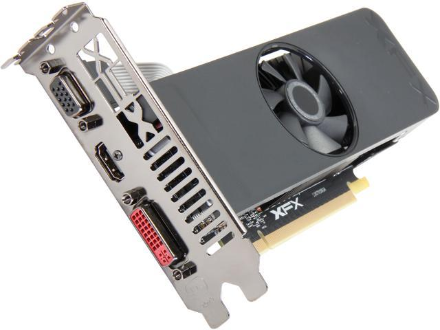 XFX Radeon R7 250 R7-250A-ZLF4 1GB 128-Bit GDDR5 PCI Express 3.0 HDCP Ready CrossFireX Support Low Profile Ready Video Card
