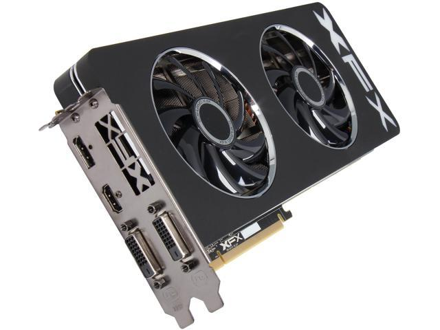 XFX Radeon R9 290 DirectX 11.2 R9-290A-EDFD 4GB 512-Bit GDDR5 PCI Express 3.0 x16 HDCP Ready CrossFireX Support Double Dissipation ...