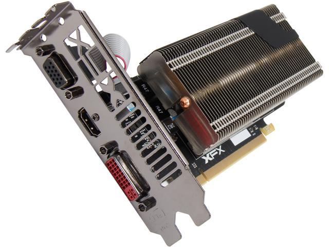 XFX Radeon R7 240 DirectX 11.2 R7-240A-CLH4 2GB 128-Bit DDR3 PCI Express 3.0 CrossFireX Support Low Profile Video Card