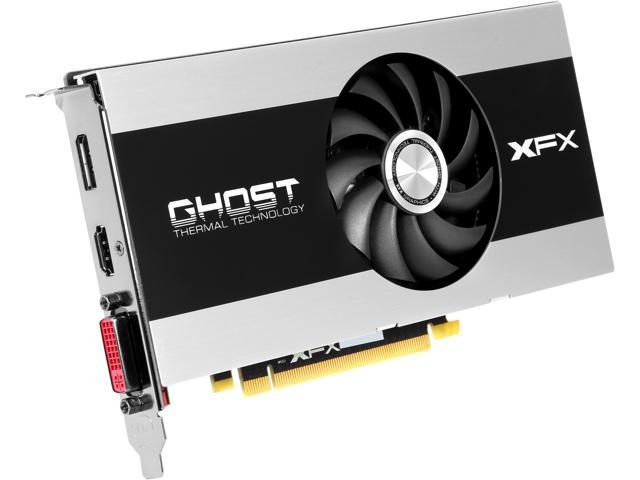 XFX R7-250E-ZNP4 Radeon R7 250E 1GB 128-Bit GDDR5 PCI Express 3.0 x16 Support 3 Monitors Video Card