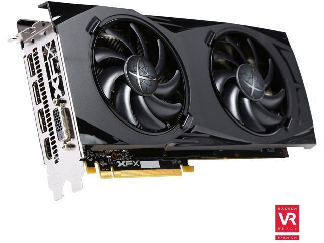 XFX Radeon GTR RX 480 DirectX 12 RX-480P8DFA6 8GB 256-Bit GDDR5 PCI Express 3.0 CrossFireX Support Triple X Video Card
