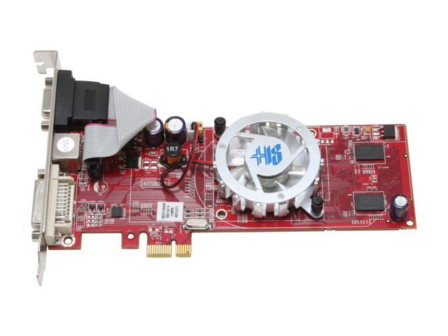 HIS H130HMF128E1N Radeon X1300 512MB (128MB Onboard) 64-bit GDDR2 PCI Express x1 Video Card