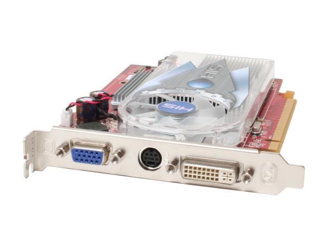 HIS H165PRF256N-R Radeon X1650PRO 256MB 128-bit GDDR2 PCI Express x16 Video Card