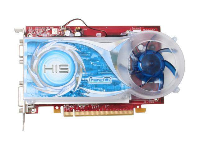 HIS H165PRQ512N-R Radeon X1650PRO 512MB 128-bit GDDR2 PCI Express x16 Video Card