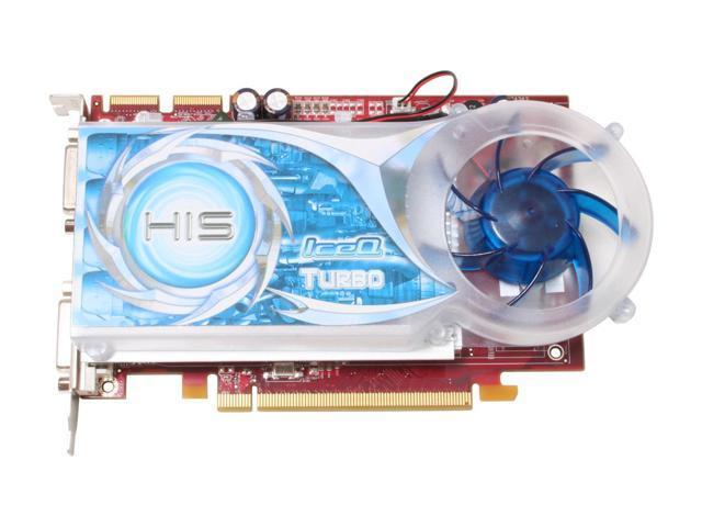 HIS H165XTQT256GDDN-R Radeon X1650XT 256MB 128-bit GDDR3 PCI Express x16 HDCP Ready CrossFireX Support Video Card