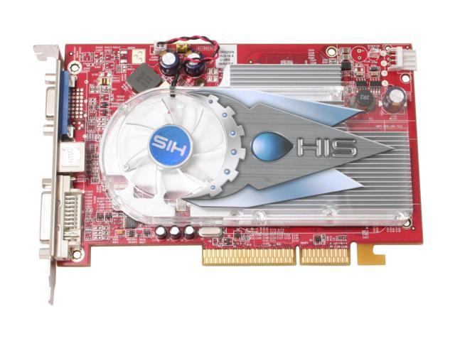HIS H165PRF512AN-R Radeon X1650PRO 512MB 128-bit GDDR2 AGP 4X/8X Video Card