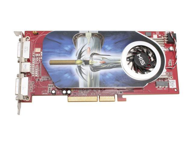 HIS H195PRF512DDAN-R Radeon X1950PRO 512MB 256-bit GDDR3 AGP 4X/8X HDCP Ready Video Card
