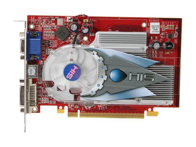 HIS H165F256N-R Radeon X1650 256MB 128-bit GDDR2 PCI Express x16 CrossFireX Support Video Card