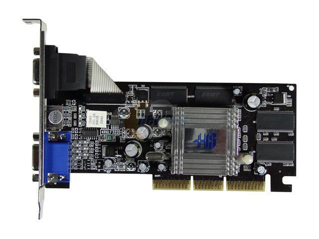 HIS H700H64-1SSAN Radeon 7000 64MB 64-bit DDR AGP 2X/4X Video Card