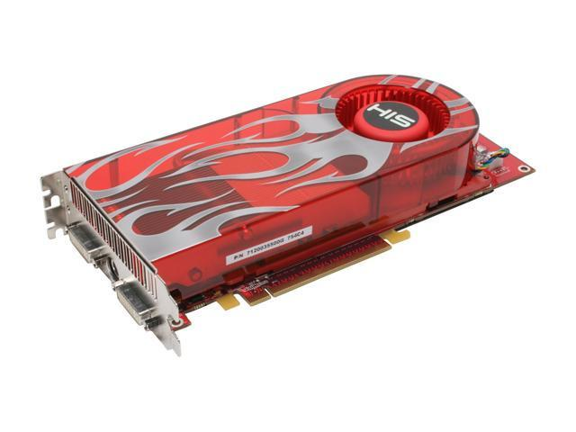 HIS H290XT1GG4DVN-R Radeon HD 2900XT 1GB 512-bit GDDR4 PCI Express x16 HDCP Ready CrossFireX Support Video Card - OEM