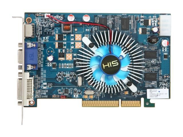 HIS H465F1GHA Radeon HD 4650 1GB 128-bit DDR3 AGP 4X/8X HDCP Ready Video Card