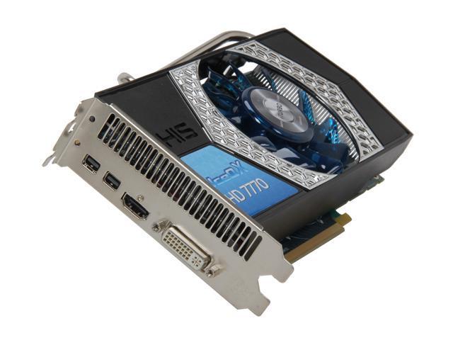 HIS IceQ X Radeon HD 7770 DirectX 11 H777QN1G2M Video Card