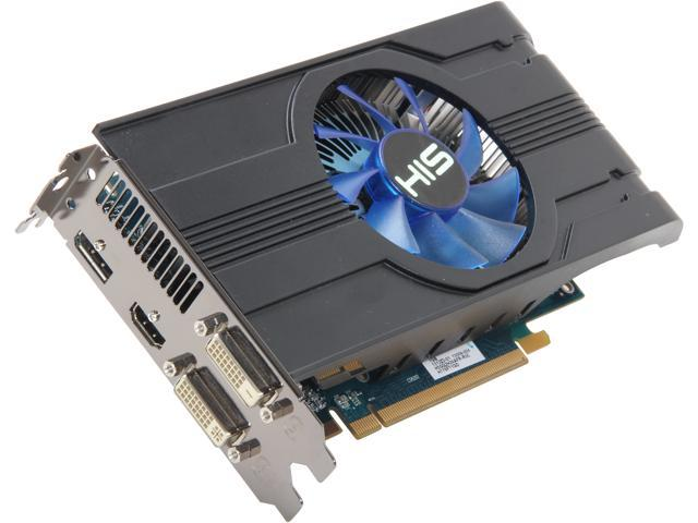 HIS H779FT1GD Radeon HD 7790 Turbo 1GB 128-bit GDDR5 PCI Express 3.0 x16 HDCP Ready CrossFireX Support Video Card