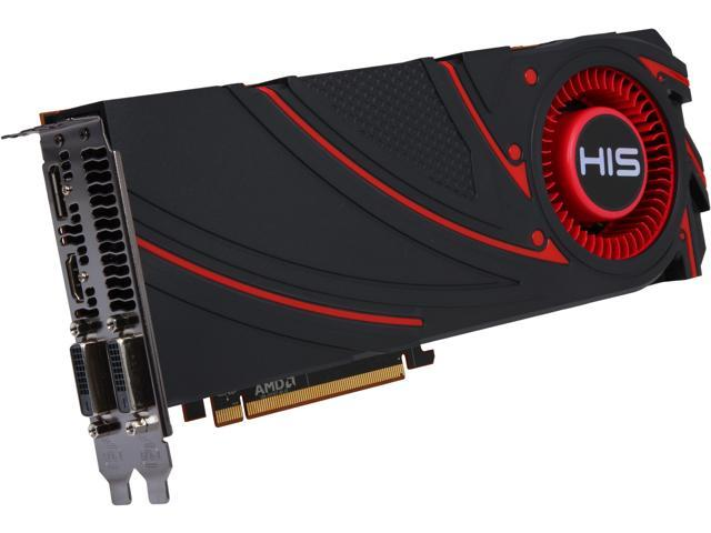 HIS Radeon R9 290X DirectX 11.2 H290XF4GD Video Card
