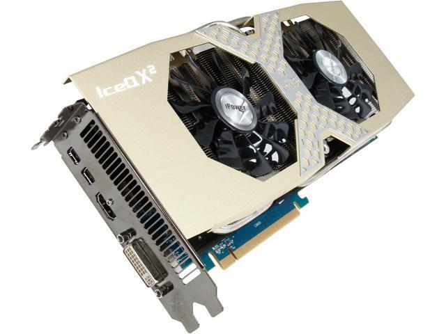 HIS iPower IceQ X² Boost Clock H280XQM3G2M Radeon R9 280X 3GB 384-Bit GDDR5 PCI Express 3.0 x16 HDCP Ready CrossFireX Support Video Card