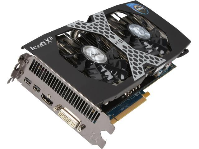 HIS IceQ X² Turbo Boost Clock Radeon R9 270X DirectX 11.2 H270XQMT2G2 Video Card
