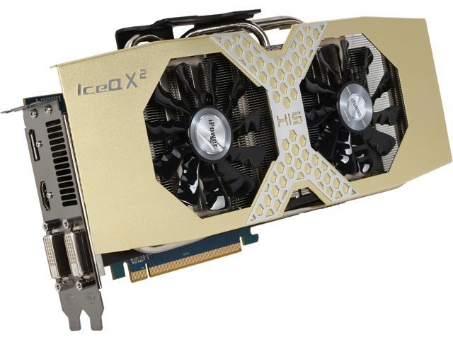 HIS iPower IceQ X² Radeon R9 290X DirectX 11.2 H290XQM4GD 4GB 512-Bit GDDR5 PCI Express 3.0 x16 HDCP Ready CrossFireX Support Video Card