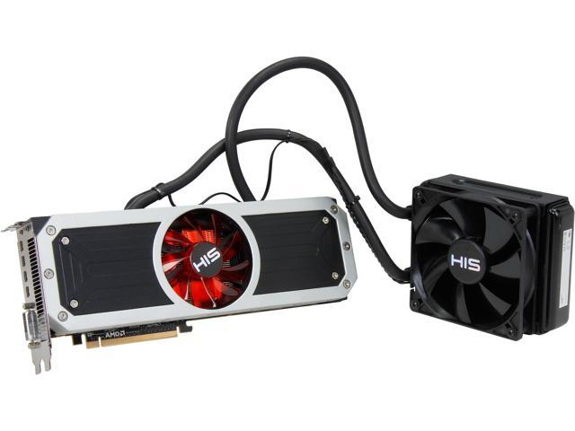 HIS Radeon R9 295x2 DirectX 11.2 H295LF8G4M Video Card