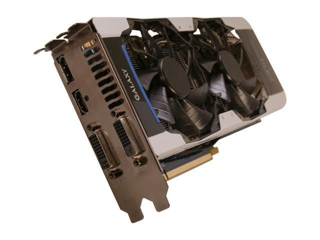 Galaxy 67NPH6DV6KXZ GeForce GTX 670 GC 2GB 256-bit GDDR5 PCI Express 3.0 x16 HDCP Ready SLI Support Video Card