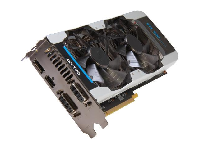 Galaxy 67NQH6DN6KXZ GeForce GTX 670 GC 4GB 256-bit GDDR5 PCI Express 3.0 x16 HDCP Ready SLI Support Video Card